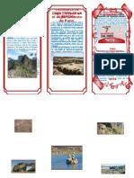 Triptico 7 Maravillas Del Peru