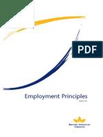 Employment Principles BAT