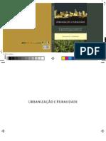 Urbanização e Ruralidade