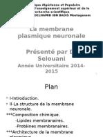 02-La Membrane Plasmique Neuronale