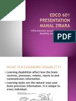 edco 601 presentation-