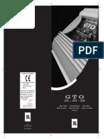 Manual Gto4000
