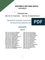 Teste Admitere UMF Carol Davila 2015