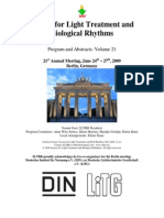 2009Society for Light Treatment and Biological Rhythms