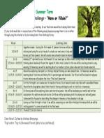 Y5 Parent Information Letter Summer 2015