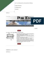 Analizis de Las Noticias
