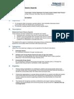 WLB Criteria Document