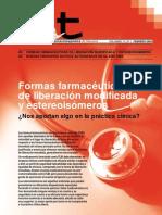 Formas farmacéuticas de liberación modificada y estereoisómeros