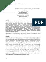 Estimacion de Riesgos en Proyectos Bajo Entornos ERP