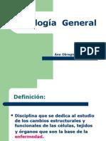 Patología General Clase 1 Aspectos de Proceso Patológico