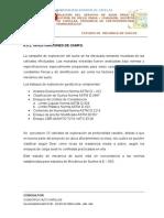 INVESTIGACION MECANICA DE SUELOS