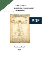 Manual  de Anatomía Humana - Parte 1 - 2015
