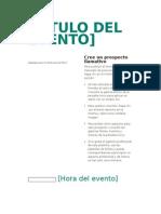 Modelo Caratula