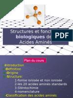 11-Structure Et Fonction Des ACIDES AMINES