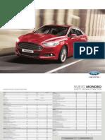 Ficha Técnica Ford Mondeo