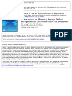 Metodo Validacion NOX Trietanolamina