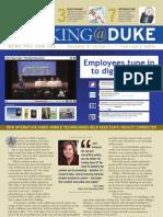 Working@Duke - February, 2010