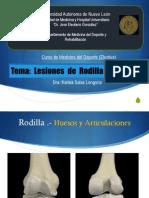 Lesiones Rodilla Tobillo Dra Karina Salas