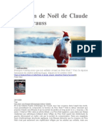 La Leçon de Noël de Claude Lévi-Strauss