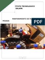 Control y Mantenimiento de Maquinaria