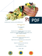 example - ferrum restaurant menu 2015