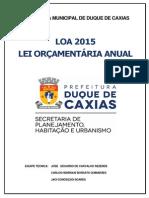 LOA 2015 Duque de Caxias