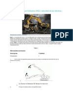 CAT Sistema Excavadora Hidráulica 390D