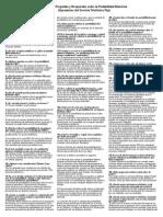 Listado Preguntas y Respuestas Sobre La Portabilidad Numerica