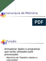 HierarquiaMemoria - Professor Carlos Mauricio