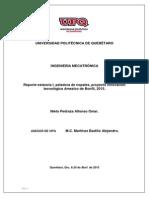 Reporte, Estancia I.