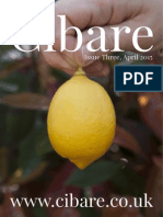 Cibare Food Magazine Issue Three