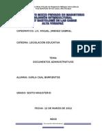 Documentos Administrativos Magisteriokarla Caal_1
