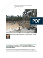 Estrategia de Saneamiento de La Pequeña Minería y Minería Artesanal