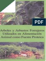 Arboles y Arbustos Forrajeros Alimentacion Animal