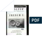 French I Booklet