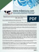 Carta Mike y Susy Misión Pesquería NL