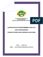 Contoh Laporan Program Membina Hijau 2015