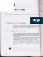 poetry passage reading and writing the essay