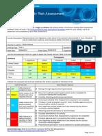 risk assessment activity 2