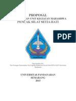 Proposal Pembentukan Unit Kegiatan Mahasiswa