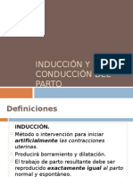Induccion y Conduccion Del Parto