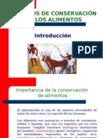 Presentación Metodos de Conservación. Unidad i