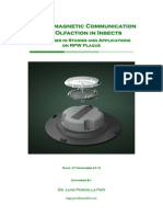 Electromagnetic Communicacion and Olfaction in Insects
