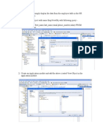 ADF Learning 2 - Displaying Data on the page