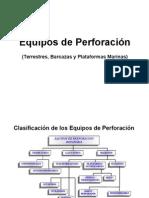 2. Clasificación de Los Equipos de Perforación