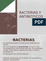 BACTERIAS Y ANTIBIOTICOS