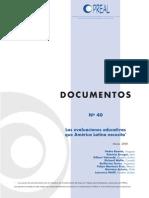 Evaluaciones Evaluaciones que requiere latinoamericaQue Requiere Latinoamerica