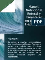 Nutrición Enteral y Parenteral Hepatópata