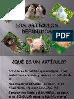 Los-Articulos Definidos (1)
