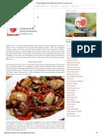 Resep Daging Teriyaki Sederhana Dan Halal - ResepUmi